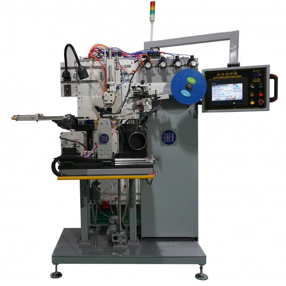 FULL AUTO BRAZING MACHINE FOR CERAMIC CALIBERATION RING