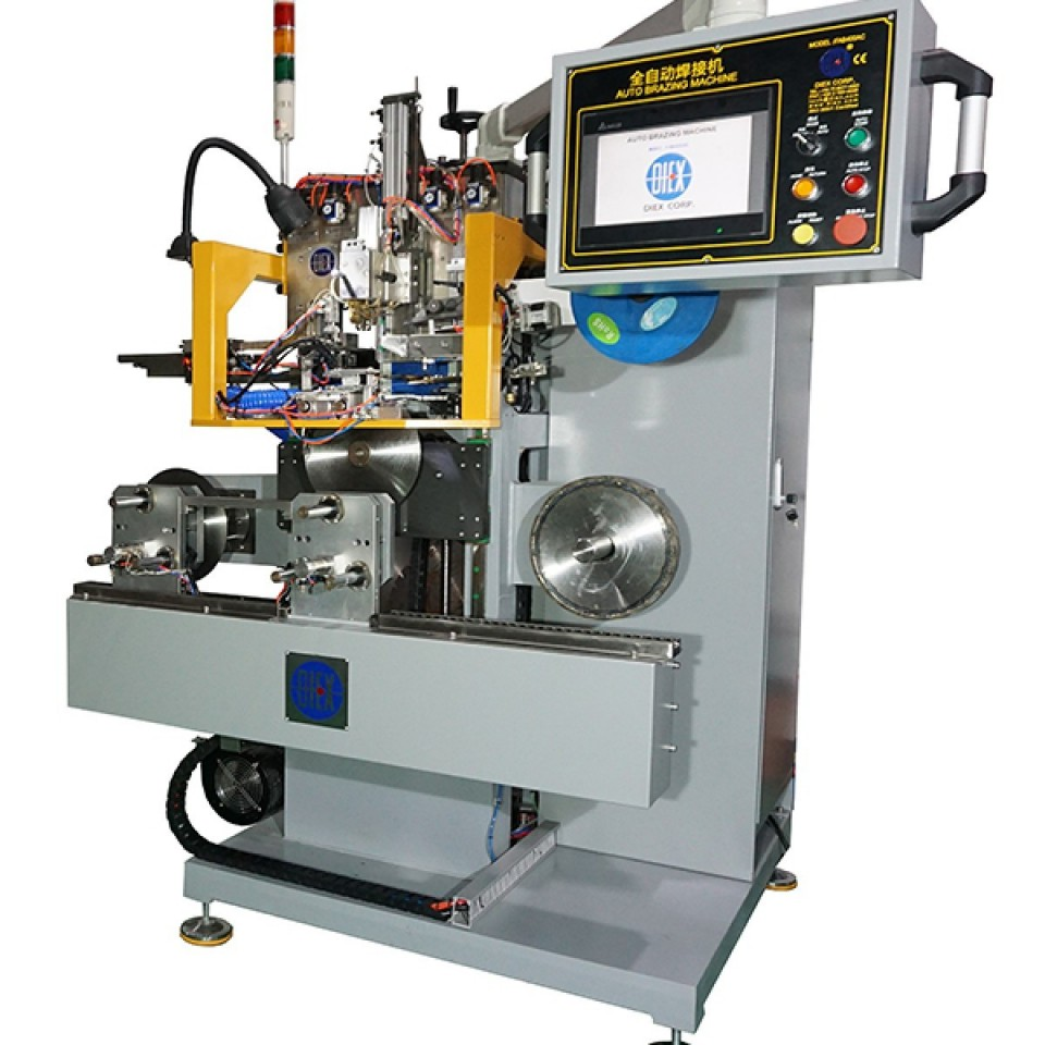 Full Auto Brazing Machine for Ceramic Saw Blade